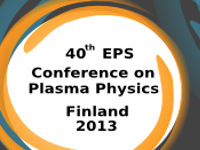 EPS 2013 Conference on Plasma Physics
