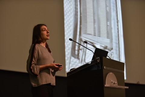 Ana presenting her 20x20