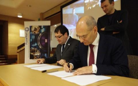 FuseNet and ENEN sign Memorandum of Understanding at the 2015 General Assembly meeting of FuseNet at CCFE