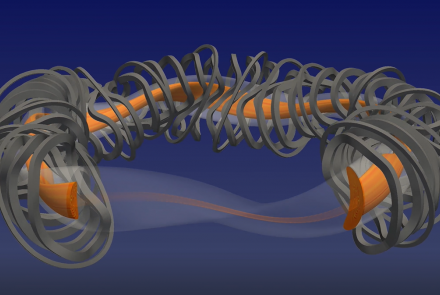 Full-volume simulation from GENE-3D