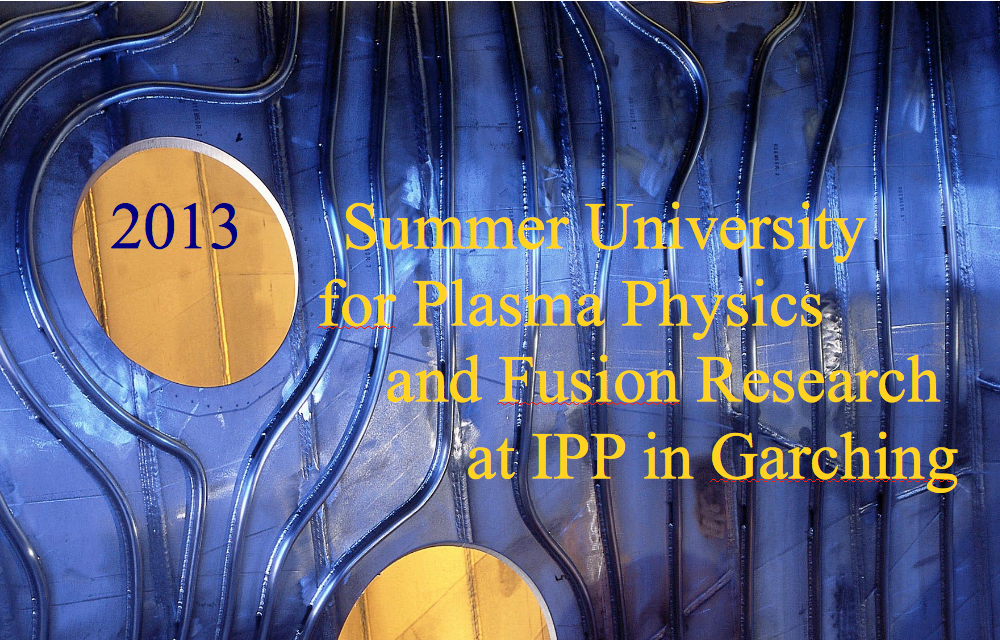 Summer School Garching 2013 - Fusion - FuseNet